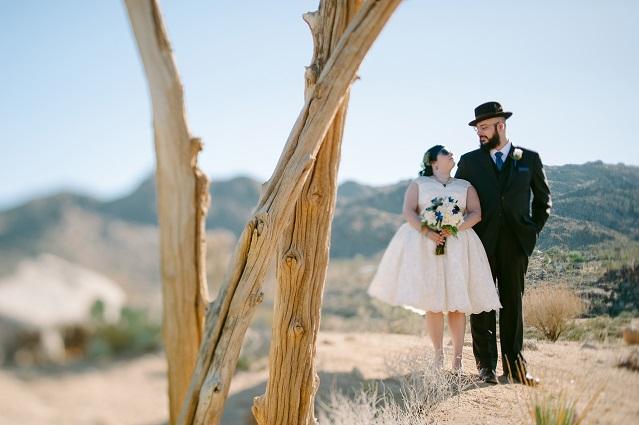 Juliana Brad S Joshua Tree Wedding At Sacred Sands